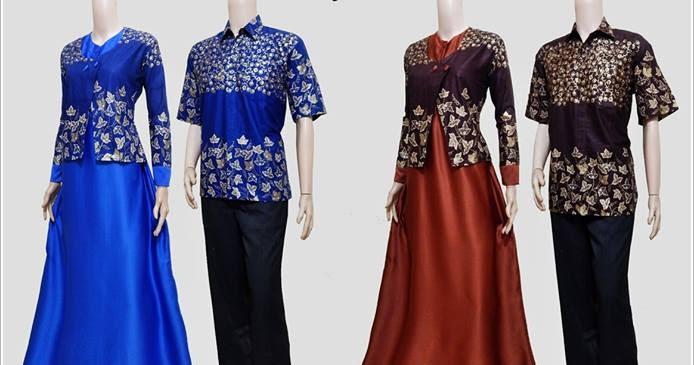 Model Baju Batik Gamis Blazer Srg 388