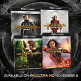 The Hunger Games Series is Headed for 4K Ultra HD This November!