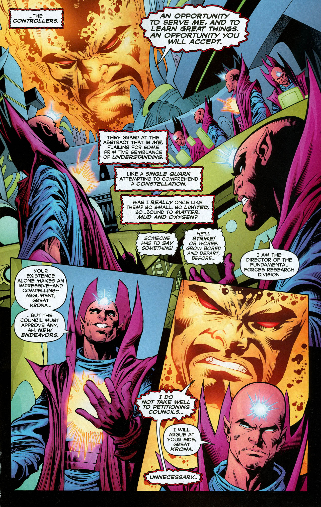 Read online Trinity (2008) comic -  Issue #20 - 21