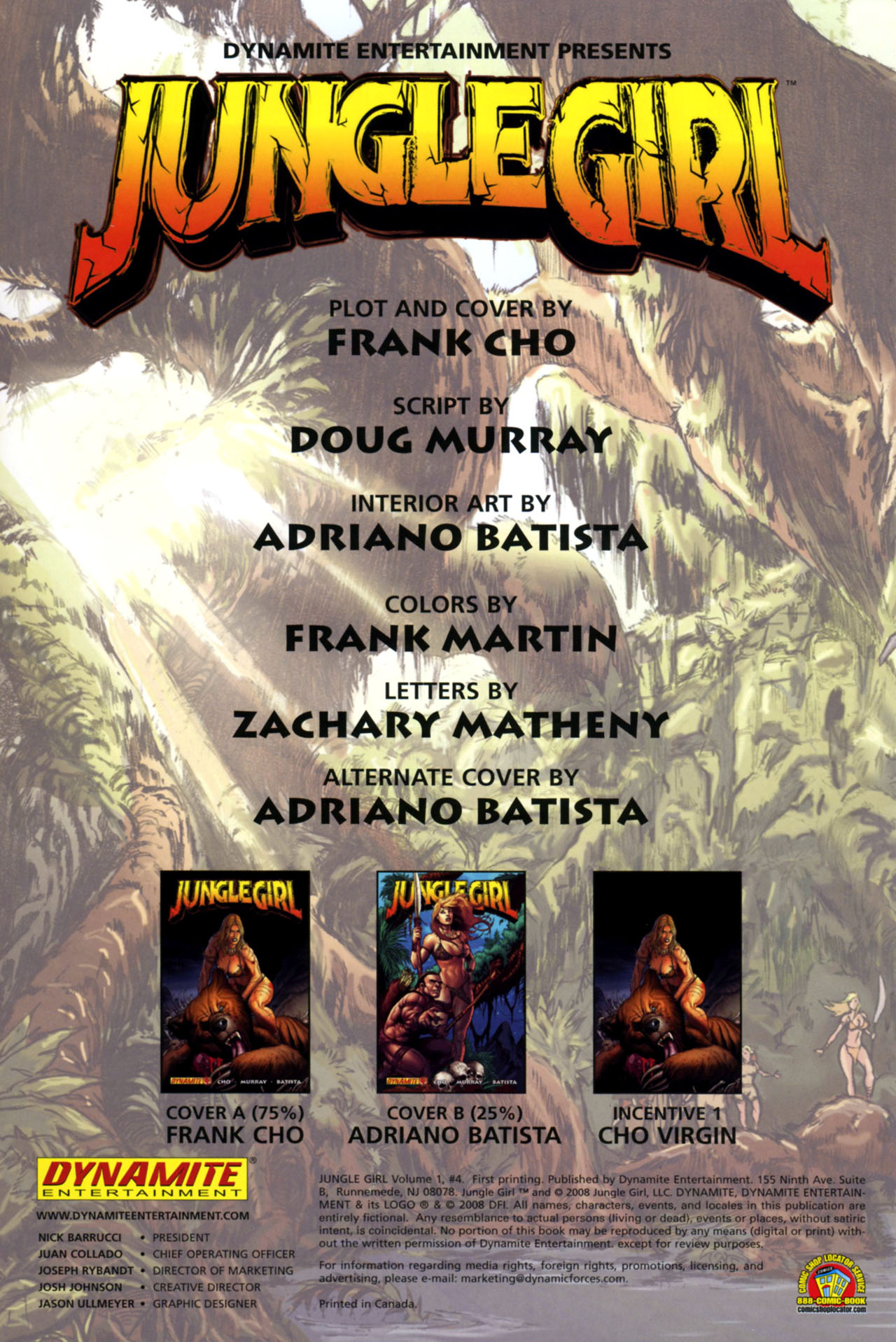 Read online Jungle Girl comic -  Issue #4 - 3