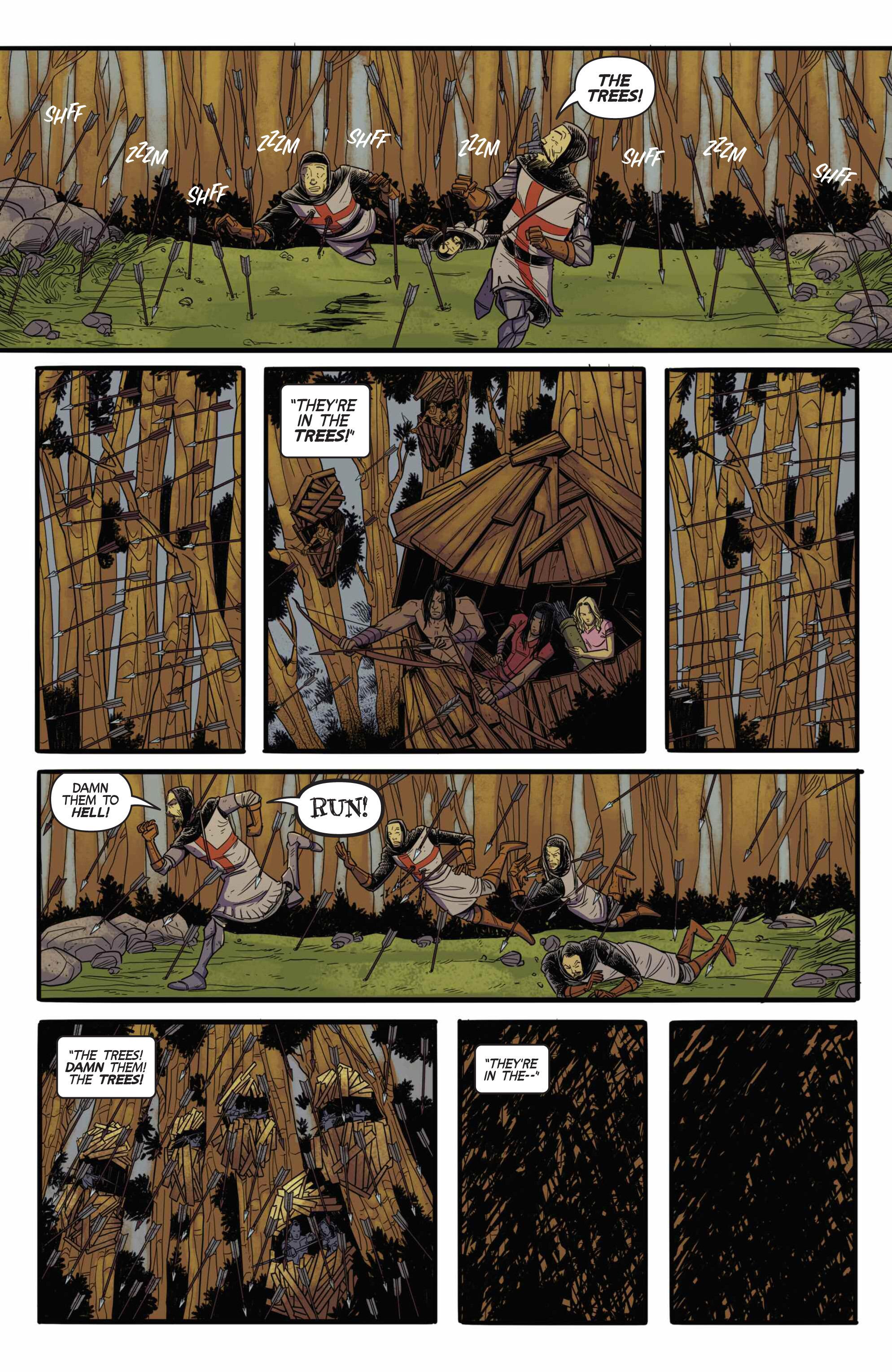 Read online Turok: Dinosaur Hunter (2014) comic -  Issue # _TPB 3 - 86