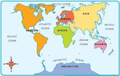 Peta Ekosistem Samudera di Bumi