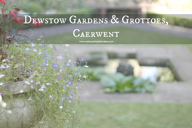 blog review dewstow gardens & grottoes caerwent photos in focus lake blurred out