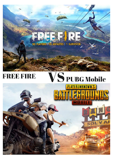 free fire vs PUBG mobile