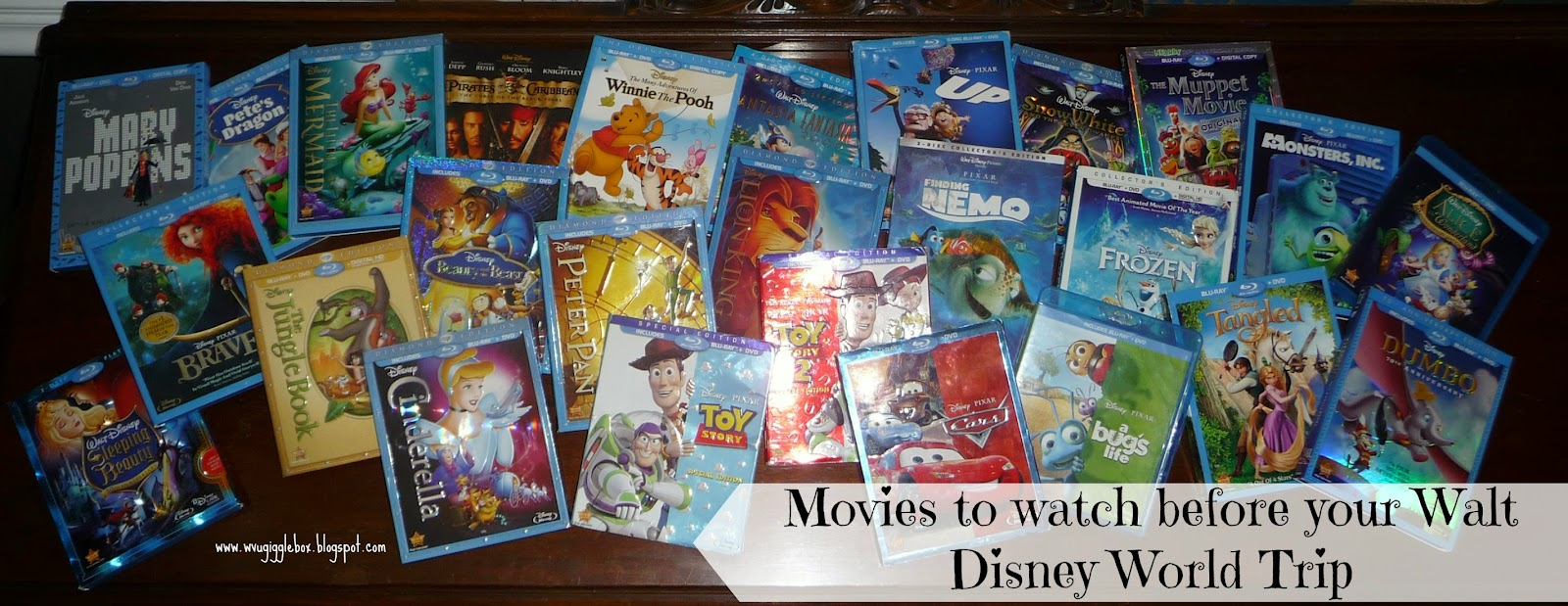 Walt Disney World vacation, Disney movies, movies to prepare for Walt Disney World,