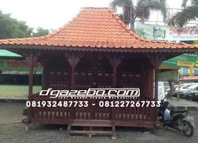 Gazebo Rumah Ukir Jawa