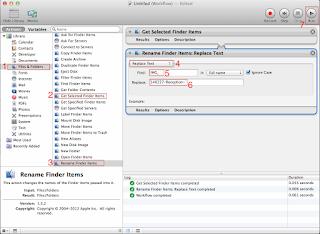 Batch Renaming Files using Automator (Mac OSX) | Threads of