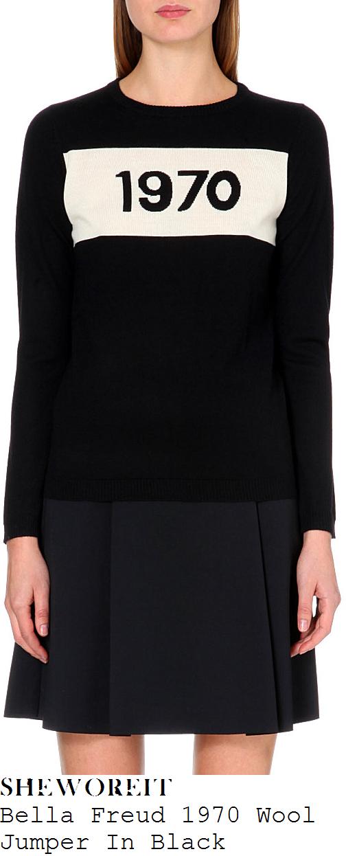 pixie-geldof-black-cream-1970-bella-freud-long-sleeve-merino-wool-jumper
