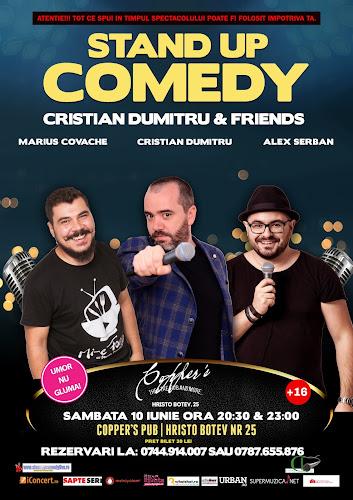 Stand-Up Comedy Sambata 10 iunie Bucuresti
