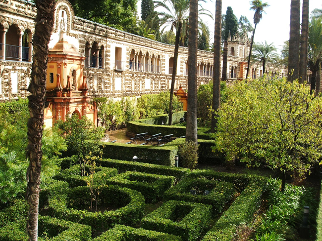 jardines del alc zar de sevilla parte ii paisaje libre