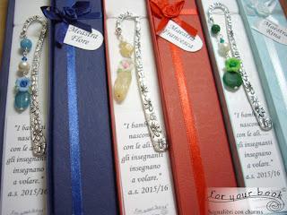segnalibri regalo maestre fine anno