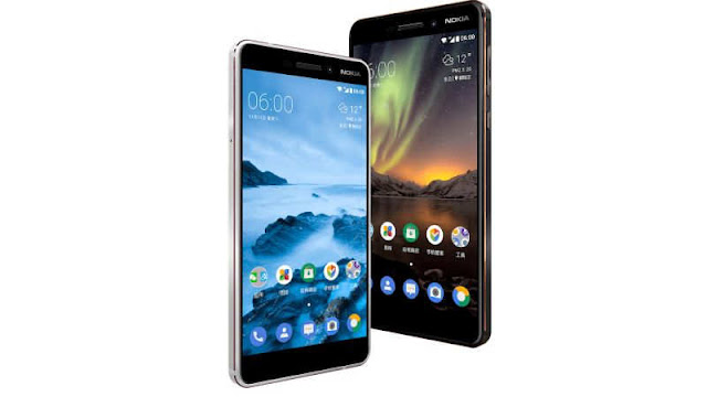 The Phone is launched inwards the Black in addition to Silver colouring variants Nokia half dozen (2018) Launched amongst a 3,000 mAh battery