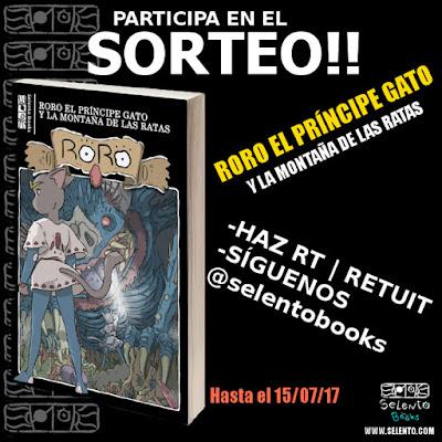 SORTEO en Twitter 1 libro de RoRo El Príncipe Gato y la Montaña de las Ratas Hasta el 15 /07/17
