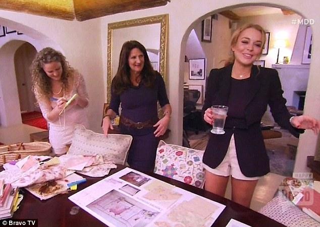 Million Dollar Decorator still with Kathryn Ireland and Lindsay Lohan