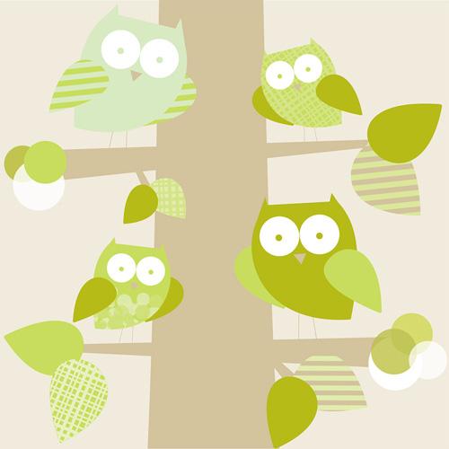 Trendy Wallpaper: Trendy Owl Desktop Wallpaper