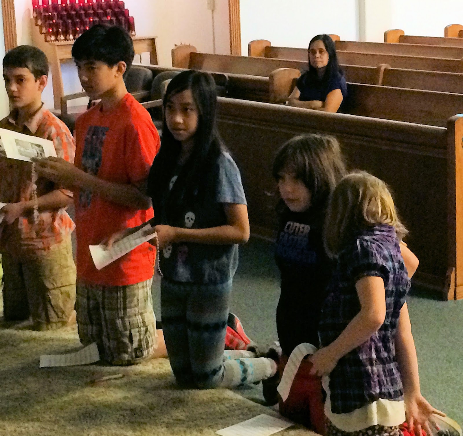 Children's Rosary: Mass Offered Today for Renewal of ...