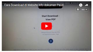 Cara Download File Di Wesite Info-Dokumen PAUD