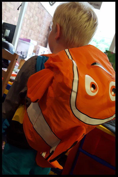 Lovely large Nemo Swim Bag
