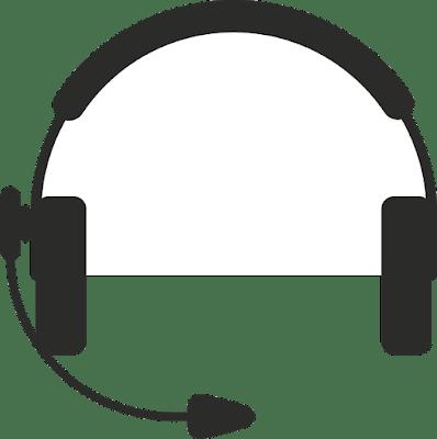 Headset dengan mic