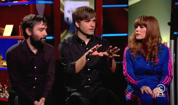 The Postal Service Interview On Colbert Report 6 19 2013 The