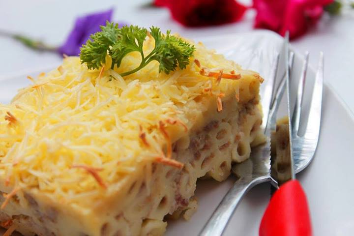 Resep Schotel Macaroni Keju Kukus Lanalouie