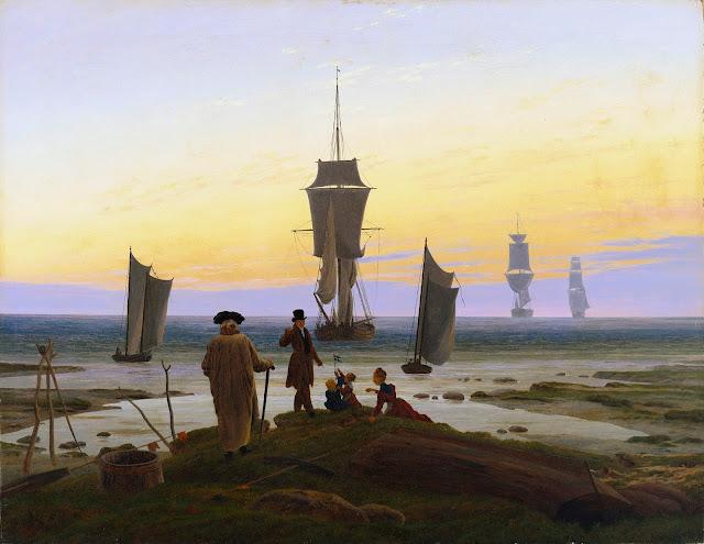 Caspar David Friedrich - Las etapas de la vida - 1834