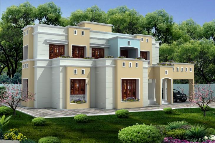 Modern Home Design With Multilevel Box Model Idea 730x487 57055 Victorian Home Design 02 1 Kindesign