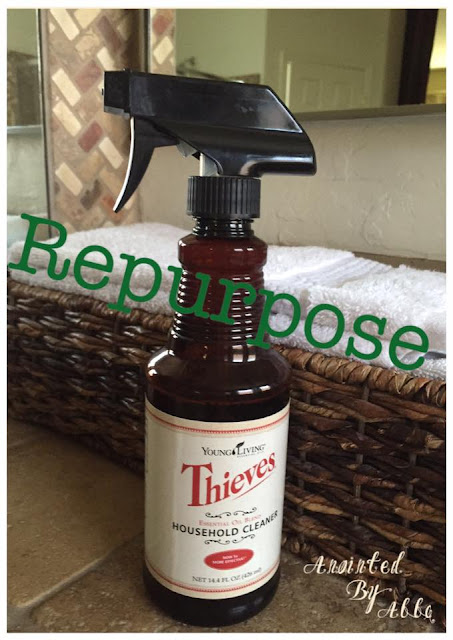 Repurpose Thieves Cleaner bottles!