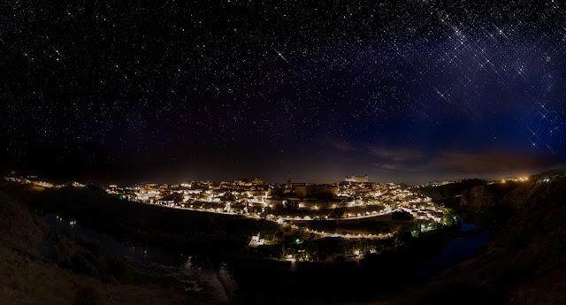 Estrellas sobre Toledo