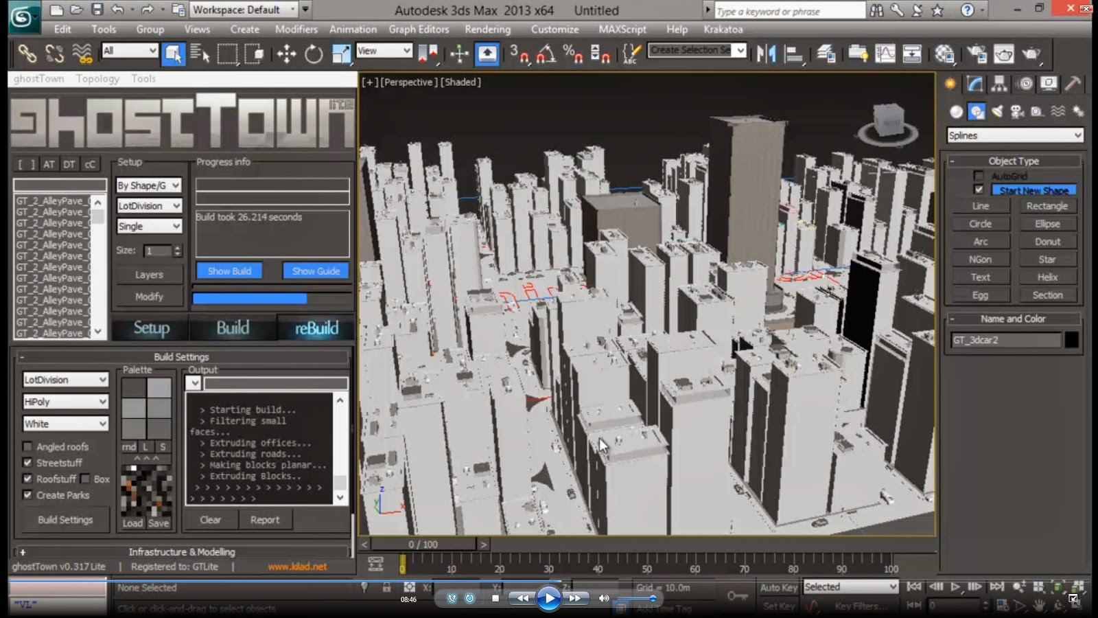 Creating low poly city using ghost town for 3ds max | CG TUTORIAL