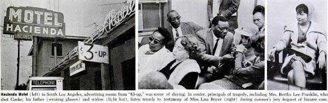 RETRO KIMMER'S BLOG: SAM COOKE SHOT AT THE HACIENDA MOTEL 1964