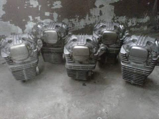 Spare Part Mesin Sepeda Motor Murah BLOK DAN HEAD COPOTAN