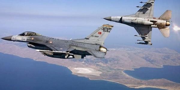 Εικονικοί βομβαρδισμοί από τουρκικά μαχητικά σε ελληνικά νησιά