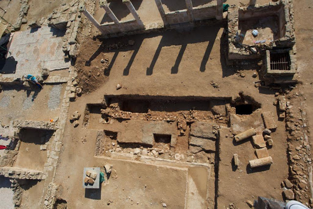 Archaeologists find oldest ancient structures of Nea Paphos in Cyprus