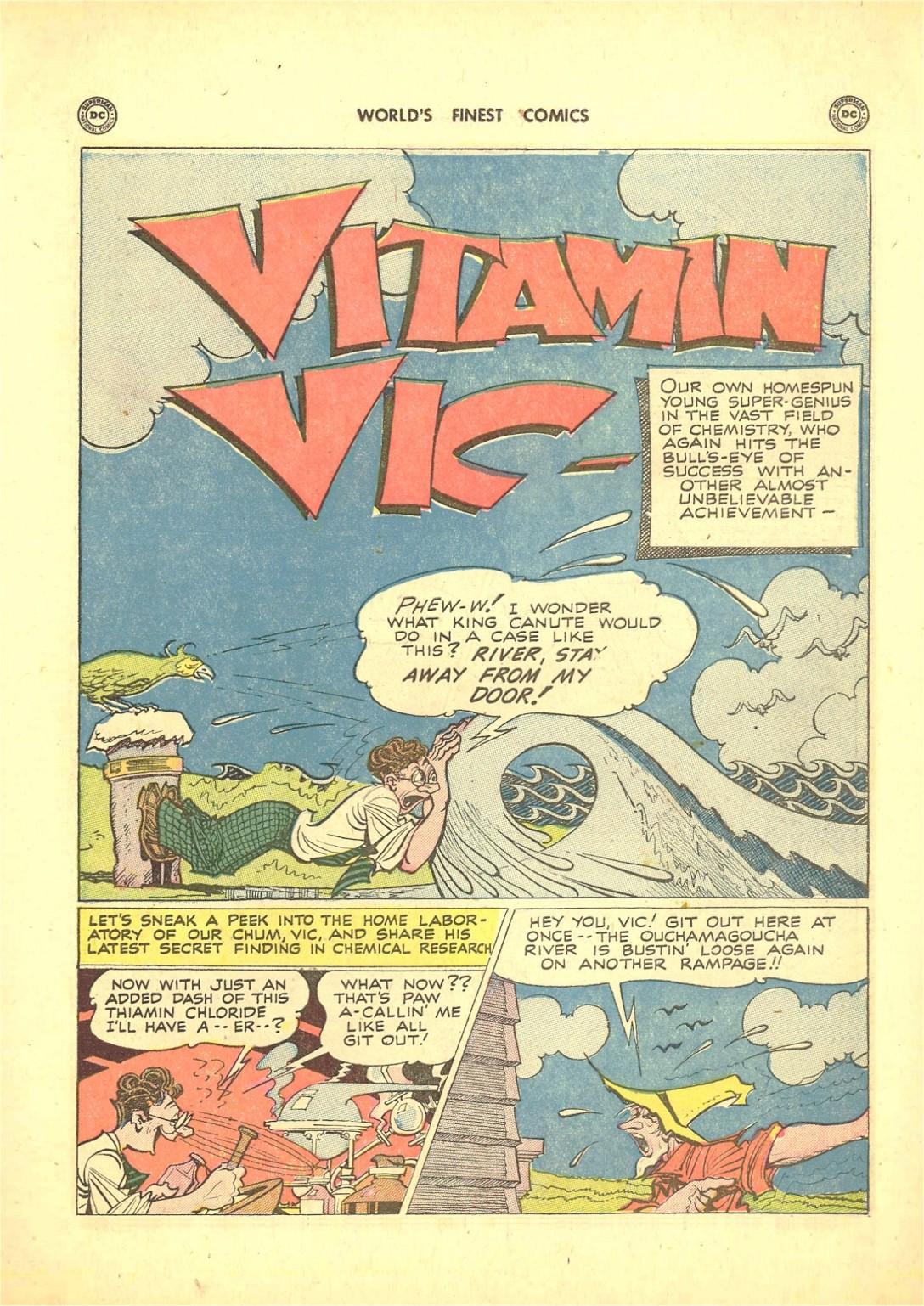 Read online World's Finest Comics comic -  Issue #50 - 51