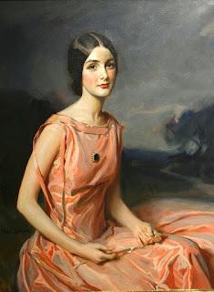 Тадеуш Стыка. Портрет молодой дамы в розовом.
