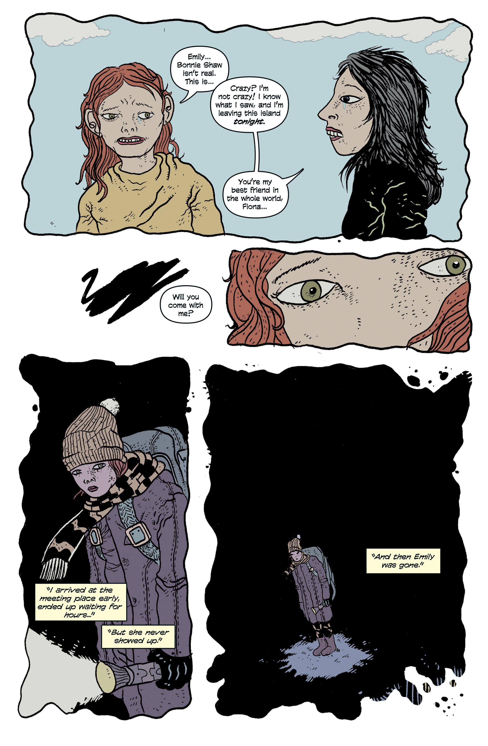 Read online And Then Emily Was Gone comic -  Issue #1 - 12