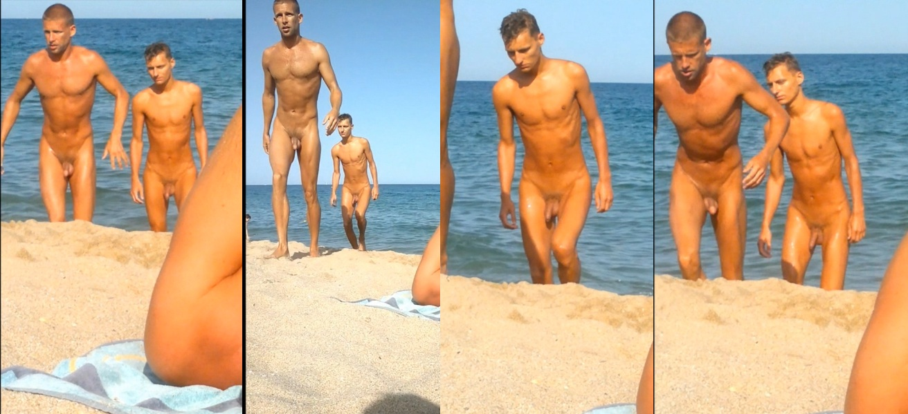 Nude Males At The Beach