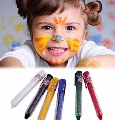 halloween face paint for kids