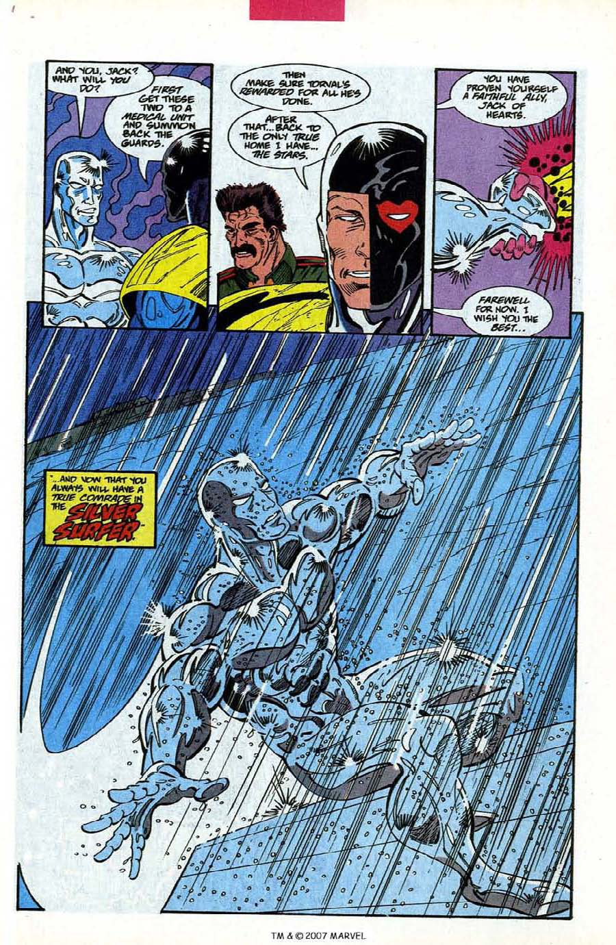 Read online Silver Surfer (1987) comic -  Issue #78 - 31