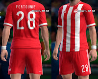 Olympiacos 16/17 home kit Pes 2013