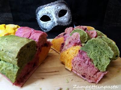 Pane colorato - senza coloranti