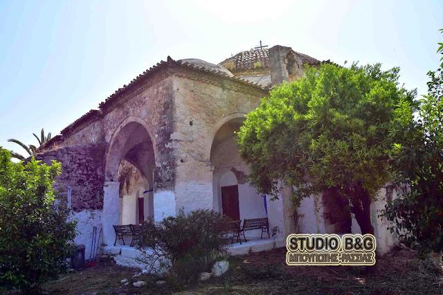 Το Τούρκικο τζαμί που έγινε εκκλησία του Αγίου Κωνσταντίνου και Ελένης στο Άργος