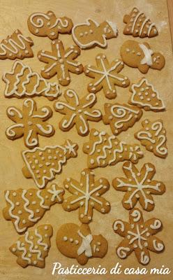 biscotti pan di zenzero ricetta di pasticceria di casa mia