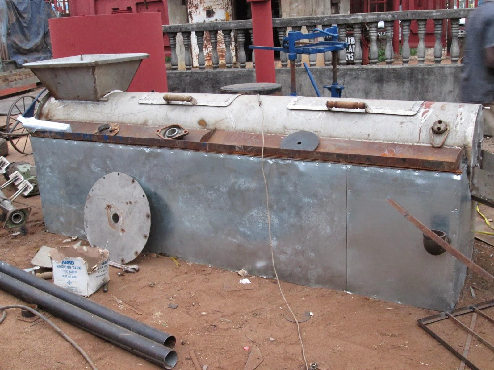 Obincowelds Construction Company Ltd : MECHANIZED GARRI FRYING EQUIPMENT