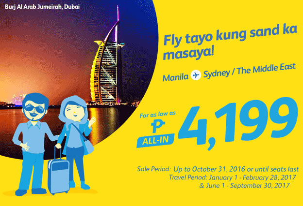 Cebu Pacific Promo Manila to Sydney 2017