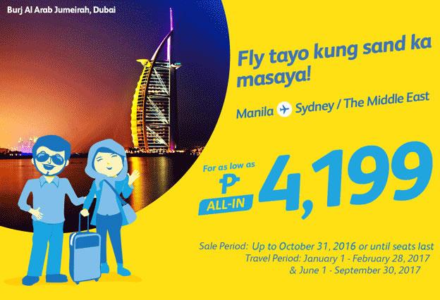 Cebu Pacific Promo Manila to Sydney 2017