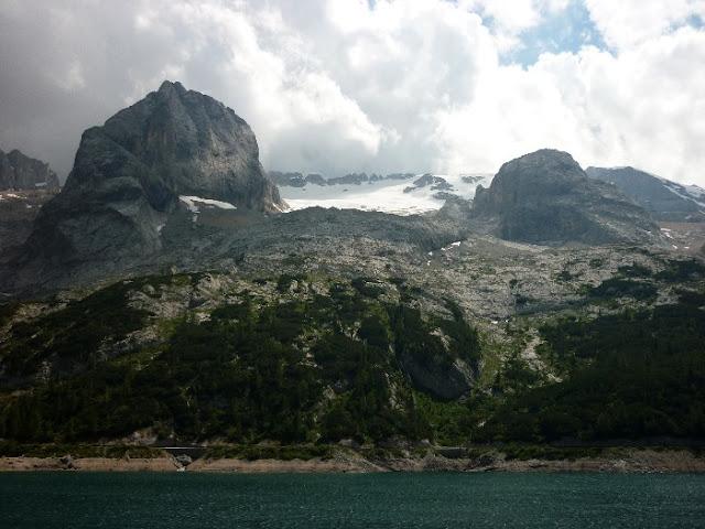 visita al ghiacciaio della marmolada