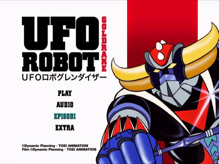 Altri universi ufo robot goldrake in edicola versione dvd