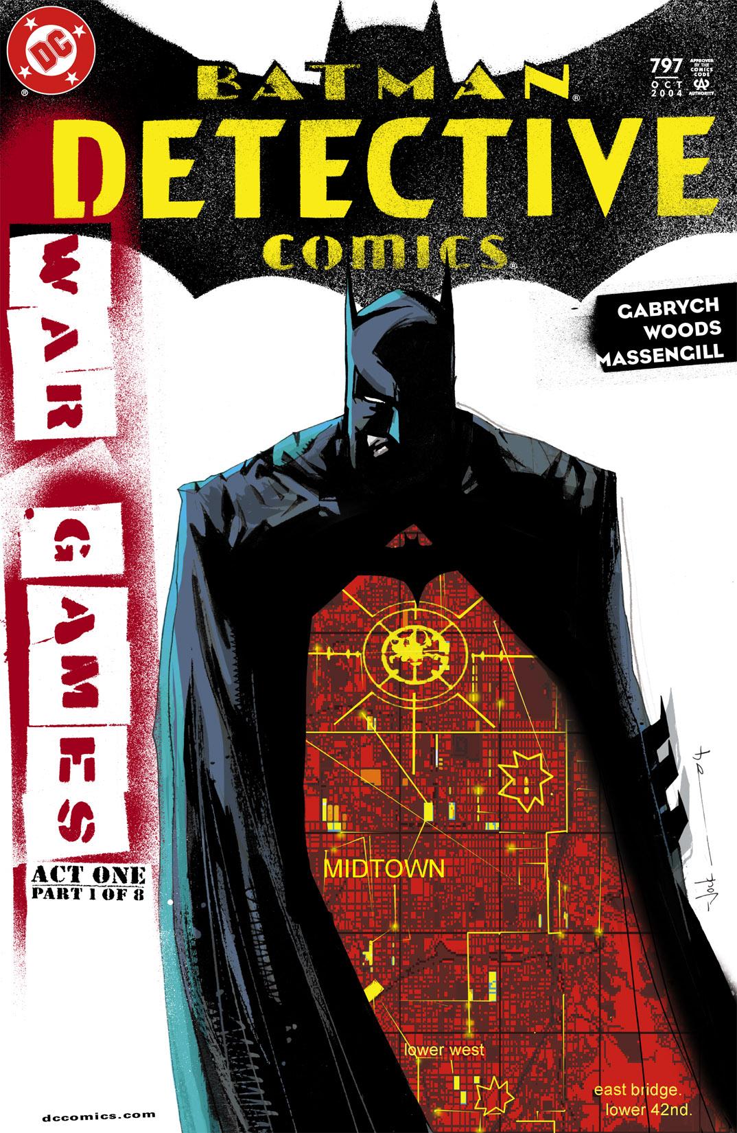 Detective Comics (1937) 797 Page 1